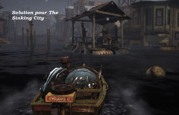 solution pour The Sinking City b