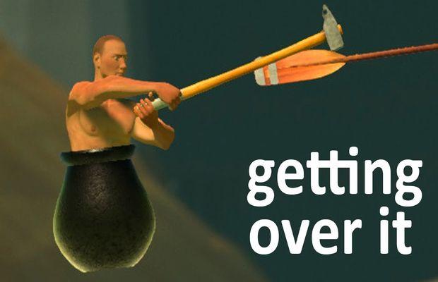 Speedrun de Getting Over It: dingue