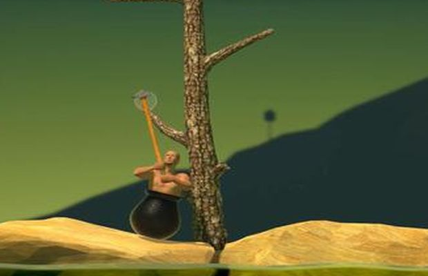 Speedrun de Getting Over It b