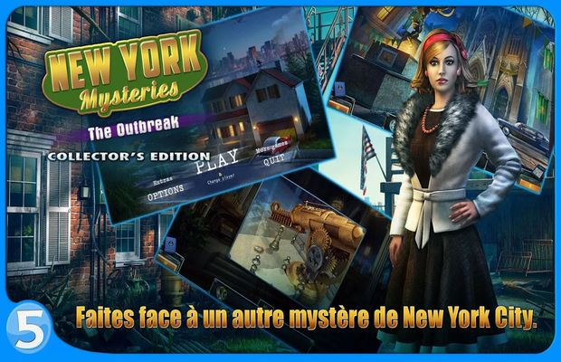 solution pour New York Mysteries 4 The Outbreak b