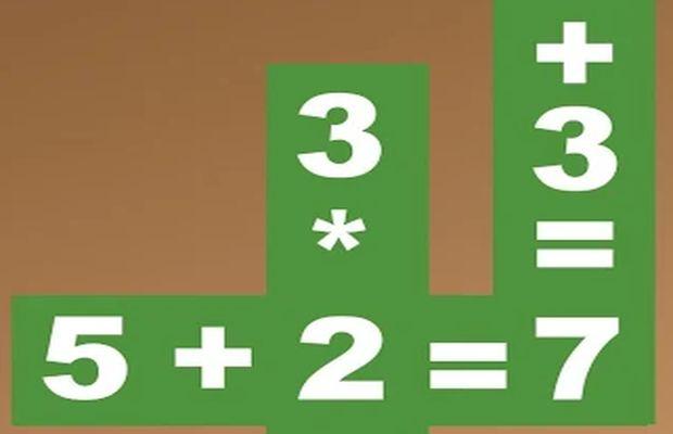 solution pour Jeux de maths Casse-tête b