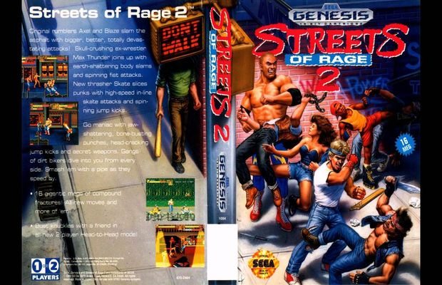 solution pour Street of Rage a