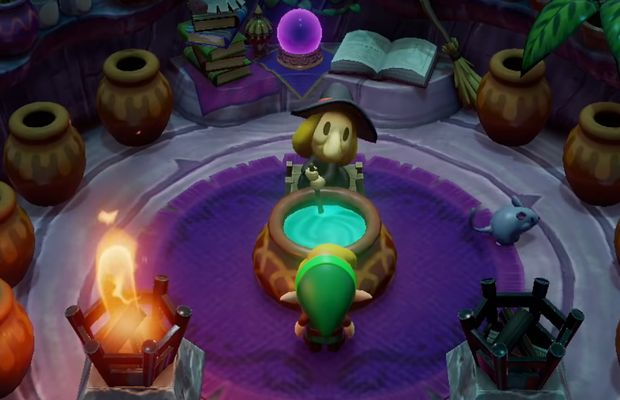 solution pour The Legend of Zelda Link's Awakening b