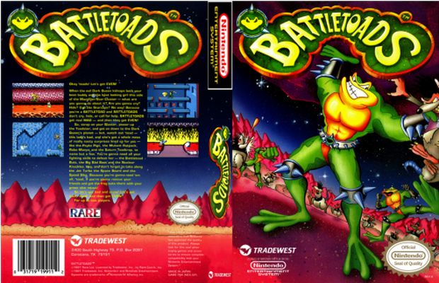 solution Battletoads a