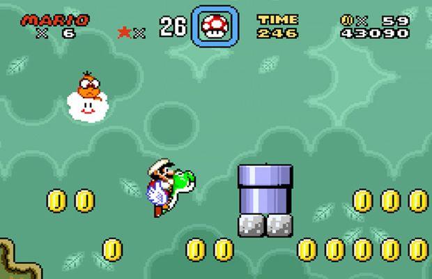 solution Super Mario World b