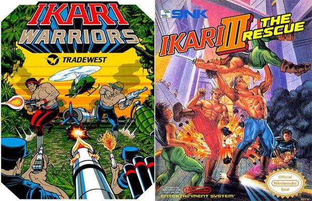 solution Ikari Warriors a