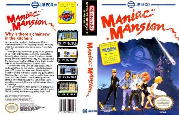 solution pour Maniac Mansion a