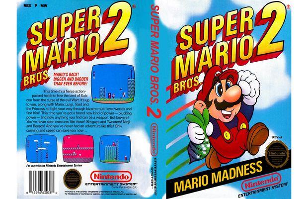 Rétro: Solution de Super Mario Bros 2 sur NES