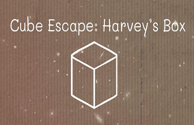 Solution pour Cube Escape Harvey's Box, petite boîte