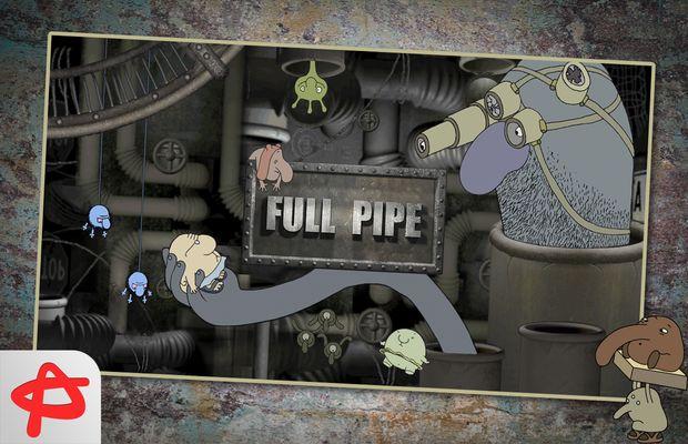 Solution pour Full Pipe: étrange et sympa