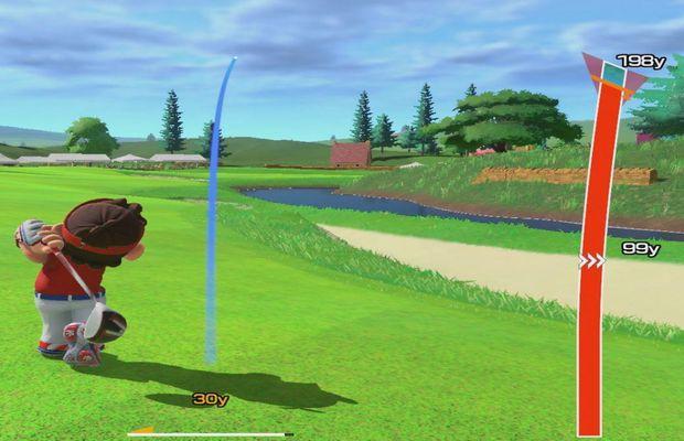 solution Mario Golf Rush b