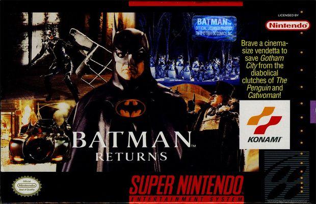 Read more about the article Rétro: Solution pour Batman Returns, difficile et prenant